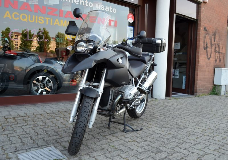 BMW R 1200 GS GOMME NUOVE Borse BMW gomme nuove